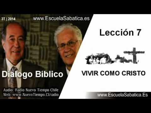Dialogo Bíblico | Domingo 10 de agosto 2014 | Cómo vivió Jesús | Escuela Sabática