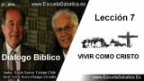 Dialogo Bíblico | Jueves 14 de agosto 2014 | Cómo vivir como Jesús | Escuela Sabática