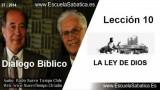 Resumen Dialogo Bíblico | Lección 10 | La Ley de Dios | Escuela Sabática