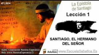 Lección 1 | Miércoles 1 de octubre 2014 | A las doce tribus que estàn en la dispersión | E. Sabática