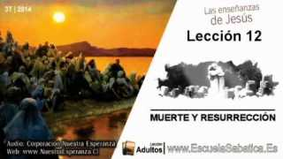Lección 12 | Jueves 18 de septiembre 2014 | Jesús conquistó la muerte