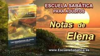 Notas de Elena | Jueves 11 de septiembre 2014 | El sábado después de la resurrección | E. Sabática