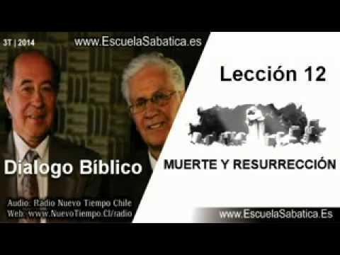 Resumen Dialogo Bíblico   Lección 12   Muerte y Resurrección   E. Sabática