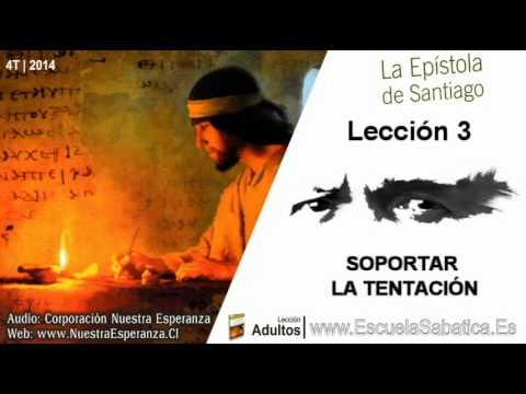 Lección 3 | Lunes 13 de octubre 2014 | Cuando la concupiscencia concibe | Escuela Sabática