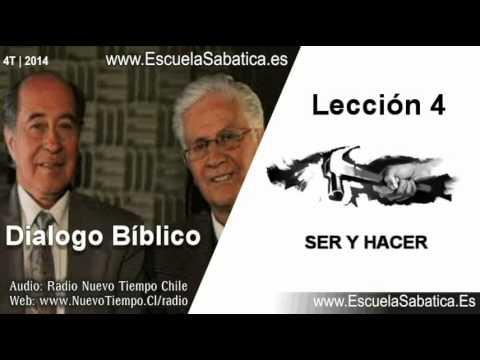Resumen Dialogo Bíblico   Lección 4   Ser y Hacer   Escuela Sabática