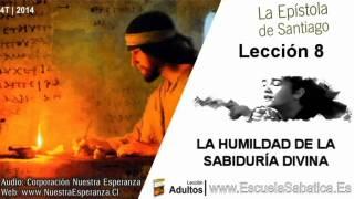 Lección 8   Jueves 20 de noviembre 2014   Sumisión a Dios   Escuela Sabática