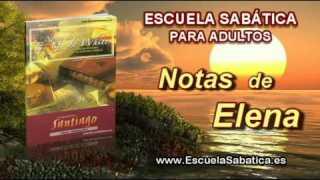Notas de Elena | Sábado 15 de noviembre 2014 | La humildad de la sabiduría divina | Escuela Sabática