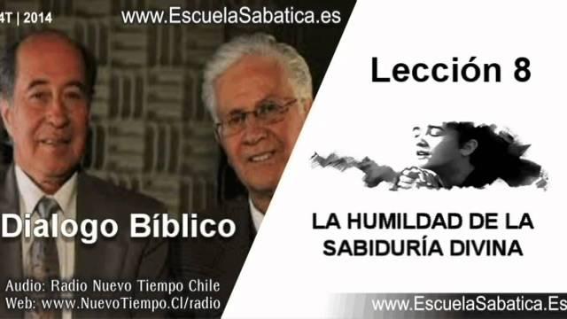 Resumen Dialogo Bíblico | La humildad de la sabiduría divina | Escuela Sabática