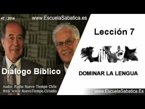 Resumen Dialogo Bíblico | Lección 7 | Dominar la lengua | Escuela Sabática
