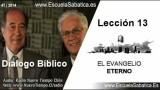 Dialogo Bíblico | Domingo 21 de diciembre 2014 | El evangelio en el Antiguo Testamento | E. Sabática