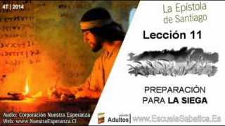 Lección 11   Domingo 7 de diciembre 2014   En espera de la lluvia   Escuela Sabática