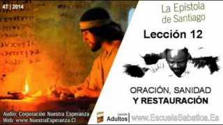 Lección 12   Jueves 18 de diciembre 2014   Restauración y perdón   Escuela Sabática