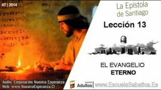 Lección 13   Jueves 25 de diciembre 2014   La culminación del evangelio   Escuela Sabática