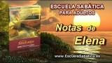 Notas de Elena | Lunes 22 de diciembre 2014 | El evangelio encamado | Escuela Sabática