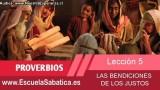 Lección 5   Sábado 24 de enero 2015   Para memorizar   Escuela Sabática