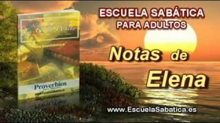 Notas de Elena | Martes 20 de enero 2015 | Regocijo en la creación | Escuela Sabática