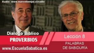 Resumen   Dialogo Bíblico   Lección 8   Palabras de sabiduría   Escuela Sabática