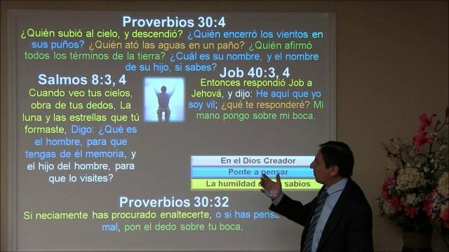 Lección 12   La humildad de los sabios   Escuela Sabática 2000