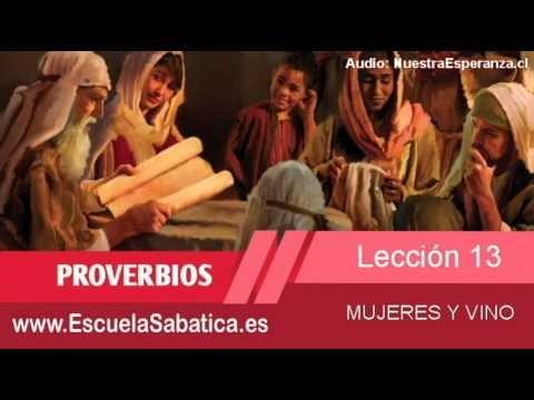 Lección 13 | Miércoles 25 de marzo 2015 | Ella trabaja | Escuela Sabática
