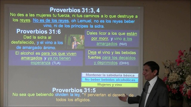 Lección 13   Mujeres y vino   Escuela Sabática 2000