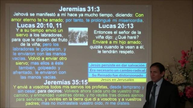 Lección 12 | Jesús en Jerusalén | Escuela Sabática 2000