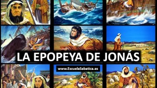 Lección 4 | La epopeya de Jonás | Escuela Sabática Power Point
