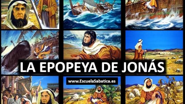 Lección 4 | La epopeya de Jonás | Escuela Sabática Power Point