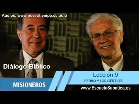Diálogo Bíblico | Domingo 23 de agosto 2015 | Pedro en pentecostés | Escuela Sabática