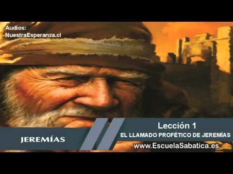 Lección 1   Viernes 2 de octubre   Para estudiar y meditar   Escuela Sabática   Jeremías