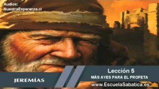 Lección 5   Martes 27 de octubre 2015   Como un fuego en sus huesos   Escuela Sabática