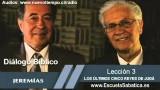 Resumen | Diálogo Bíblico | Lección 3 | Los últimos cinco reyes de Judá | Escuela Sabática