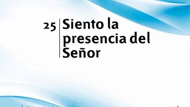 Himno 25 | Siento la presencia del Señor | Himnario Adventista