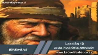 Lección 10 | Martes 1º de diciembre 2015 | La caída de Jerusalén | Escuela Sabática