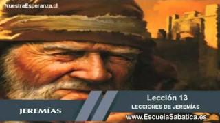 Lección 13 | Domingo 20 de diciembre 2015 | El Dios de Jeremías | Escuela Sabática