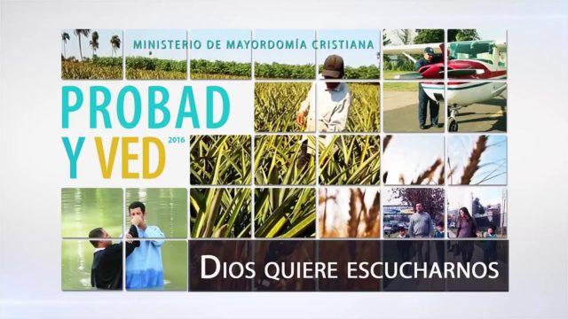 16 de abril | Dios quiere escucharnos | Probad y Ved 2016 | Iglesia Adventista