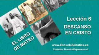 Lección 6 | Miércoles 4 de mayo 2016 | Sanó en Sábado | Escuela Sabática