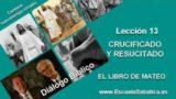 Diálogo Bíblico | Lunes 20 de junio 2016 | Nuestro sustituto crucificado | Escuela Sabática