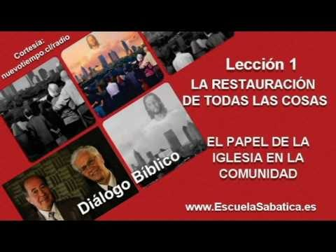 Diálogo Bíblico | Martes 28 de junio 2016 | Enemistad y expiación | Escuela Sabática