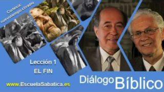 Resumen   Diálogo Bíblico   Lección 1   El fin   Escuela Sabática   El libro de Job