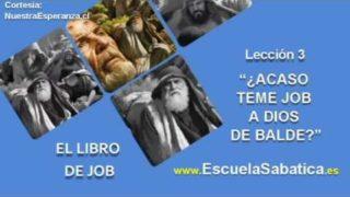 Lección 3 | Domingo 9 de octubre 2016 | Job, siervo de Dios | Escuela Sabática