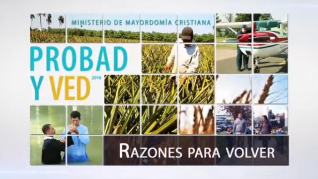 19 de noviembre | Razones para volver | Probad y Ved 2016 | Iglesia Adventista
