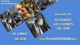 Lección 14 | Jueves 29 de diciembre 2016 | Jesús y Job | Escuela Sabática