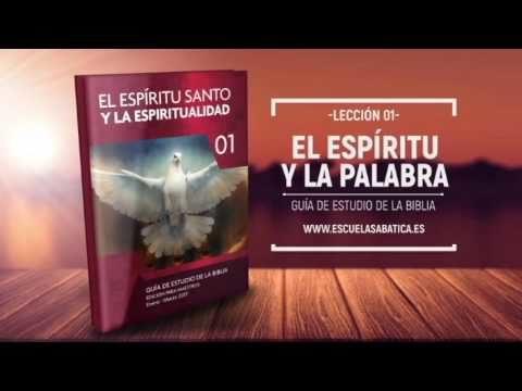 Lección 1 | Miércoles 4 de enero 2017 | El Espíritu Santo como docente | Escuela Sabática