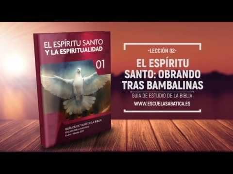 Lección 2 | Jueves 12 de enero 2017 | El Espíritu Santo y Cristo | Escuela Sabática