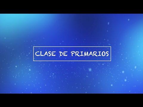 Clase de Primarios | Pretrimestral | Segundo Trimestre 2017 | Escuela Sabática