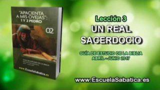 Lección 3 | Viernes 14 de abril 2017 | Para estudiar y meditar | Escuela Sabática