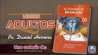 Escuela Sabática | Jueves 6 de Julio del 2017 | El origen del evangelio de Pablo | Pr. Daniel Herrera