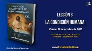 Lección 3 | Lunes 16 de octubre 2017 | Todos hemos pecado | Escuela Sabática