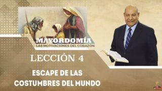 Comentario | Lección 4 | Escape de las costumbres del mundo | Escuela Sabática Pr. Alejandro Bullón