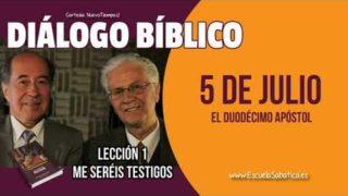 Diálogo Bíblico | Jueves 5 de julio 2018 | El duodécimo apóstol | Escuela Sabática